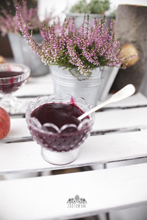 kisiel z czerwonych winogron i jablek 8