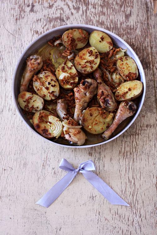 kurczak-z-ziemniakami-w-kurkach